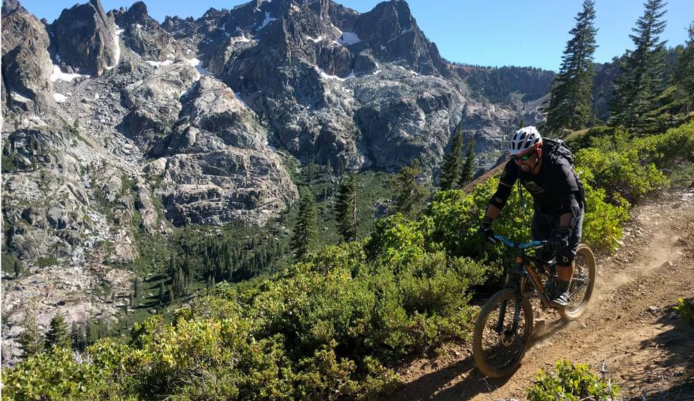 Riding the Sierra Buttes