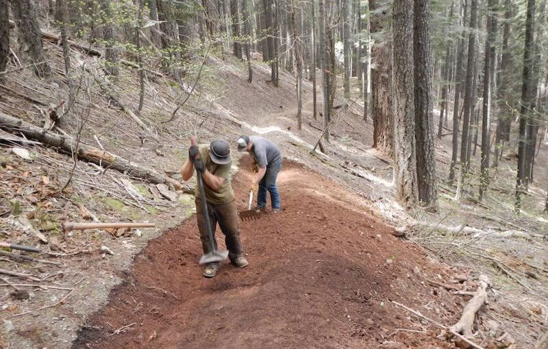 Now Hiring Seasonal Trail Builders!