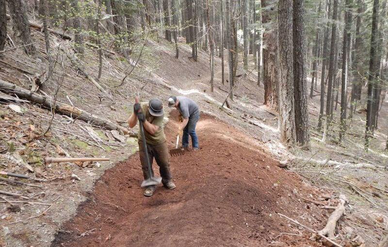 Now Hiring Seasonal Trail Builders!