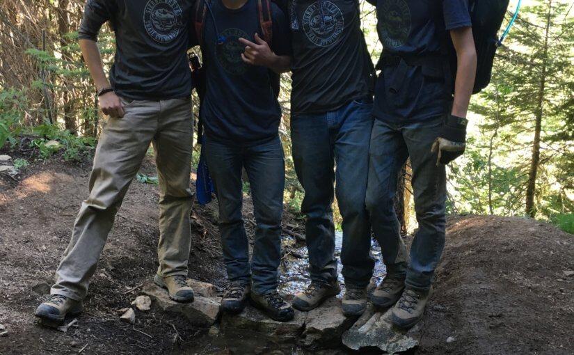 Storrie Student Crew's Sierra Summer