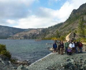 Patagonia group at Long Lake