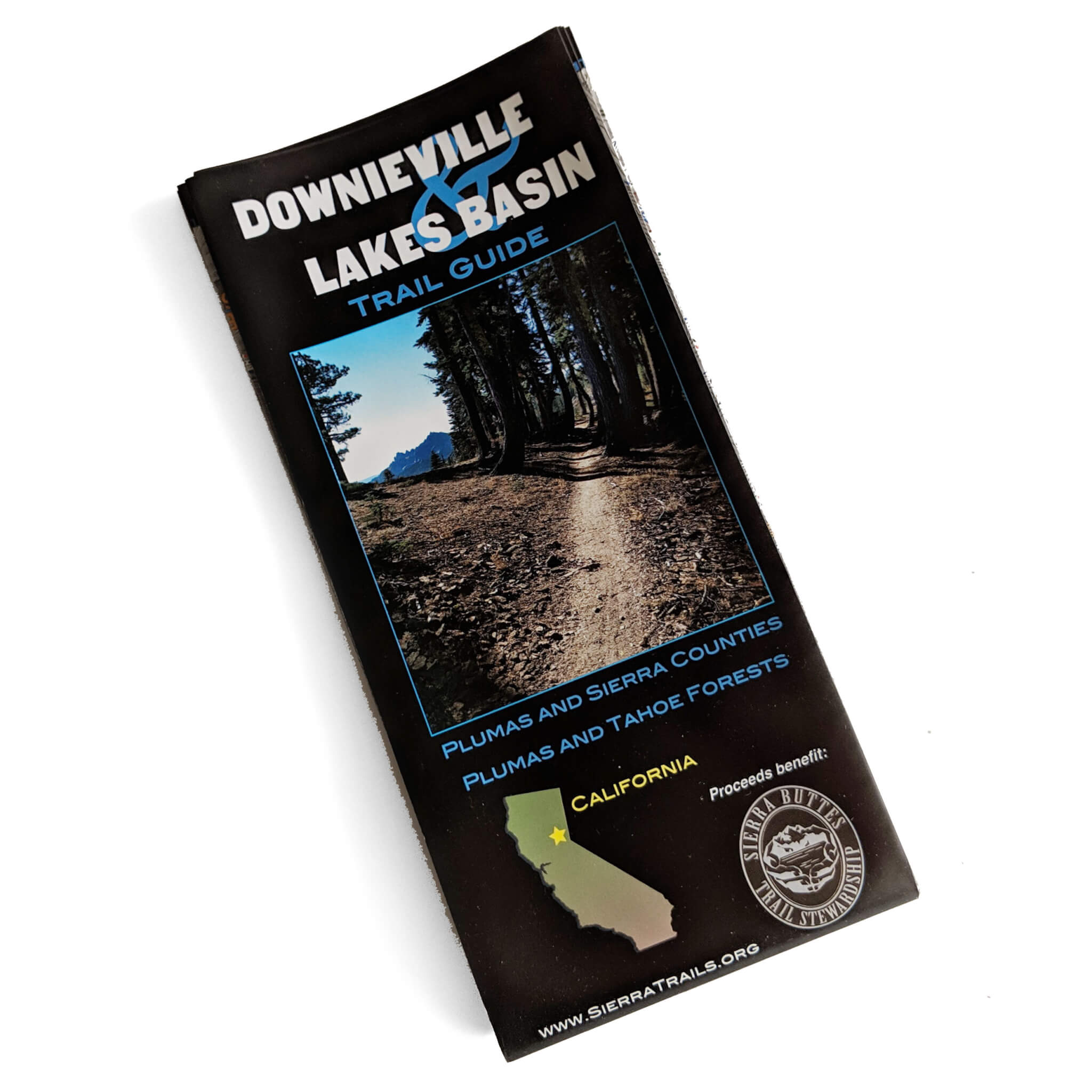 Downieville and Lakes Basin Map - Sierra es Trail Stewardship on