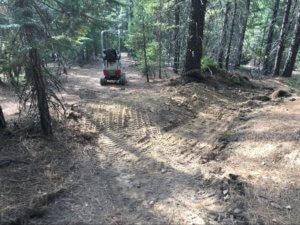 Snake Lake drain building
