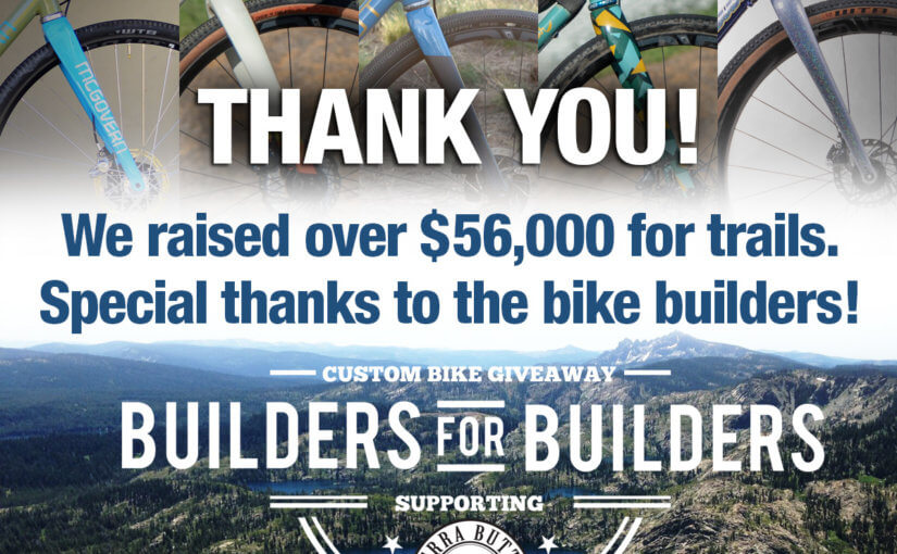 Builders for Builders Raises $56,000 for trail projects including Beckwourth Peak Trail