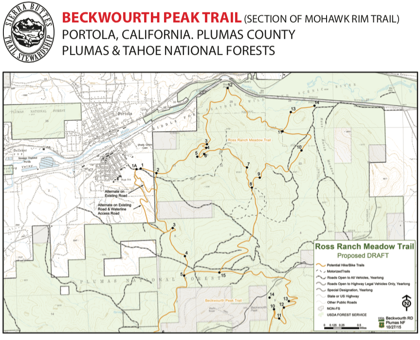 Beckwourth Peak Trail