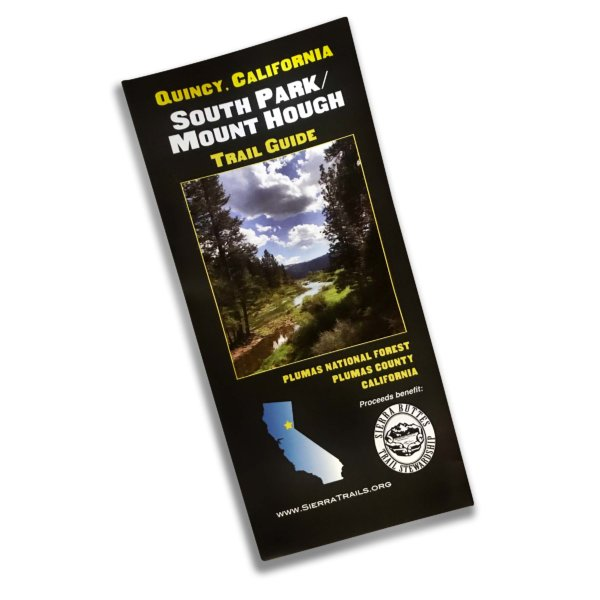 Mount Hough and South Park Quincy California Map