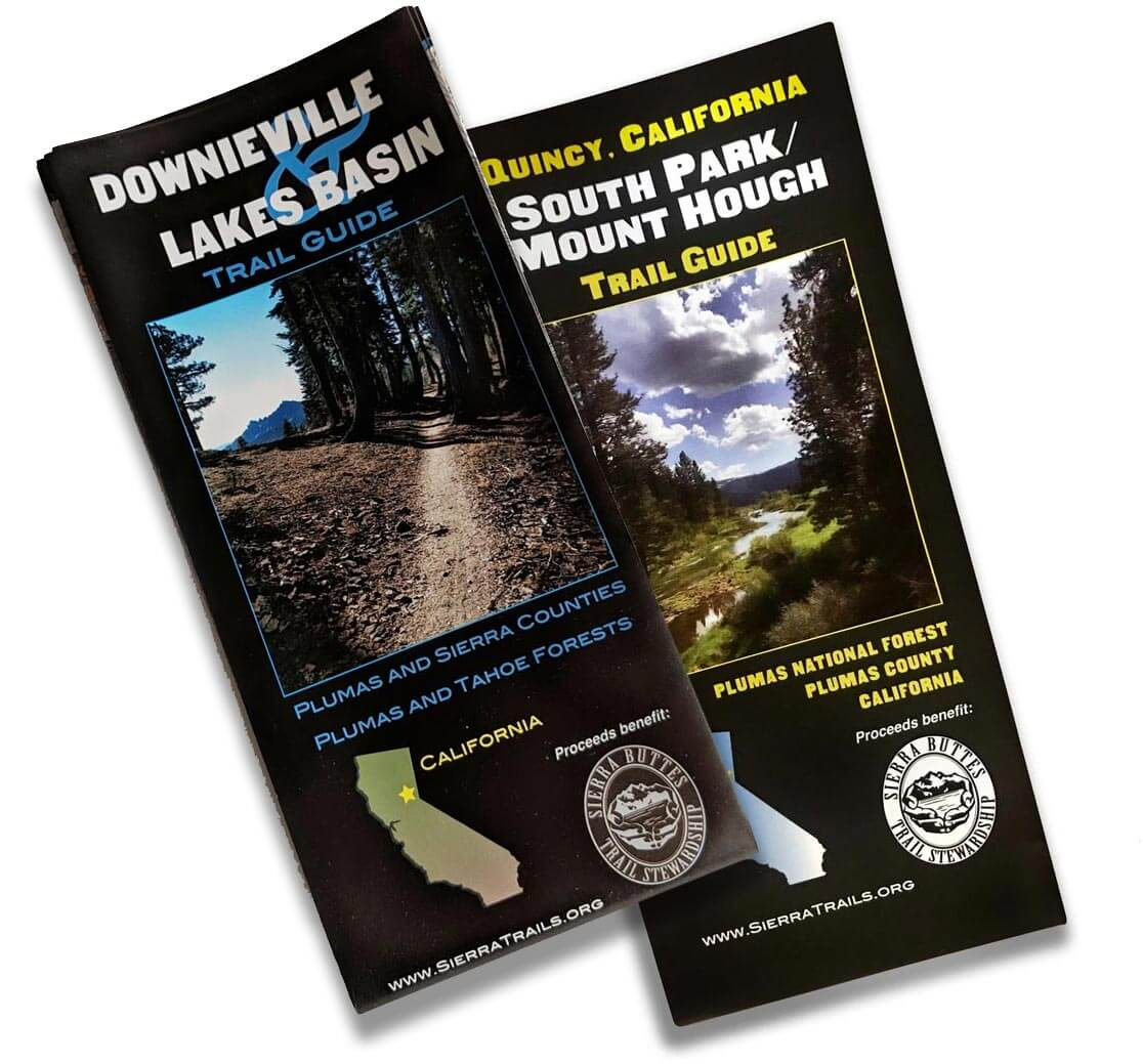 Downieville and Quincy maps