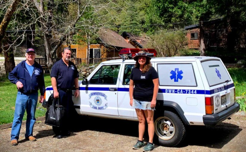 Santa Cruz Bicycles Manufactures and Donates PPE for Lost Sierra First Responders