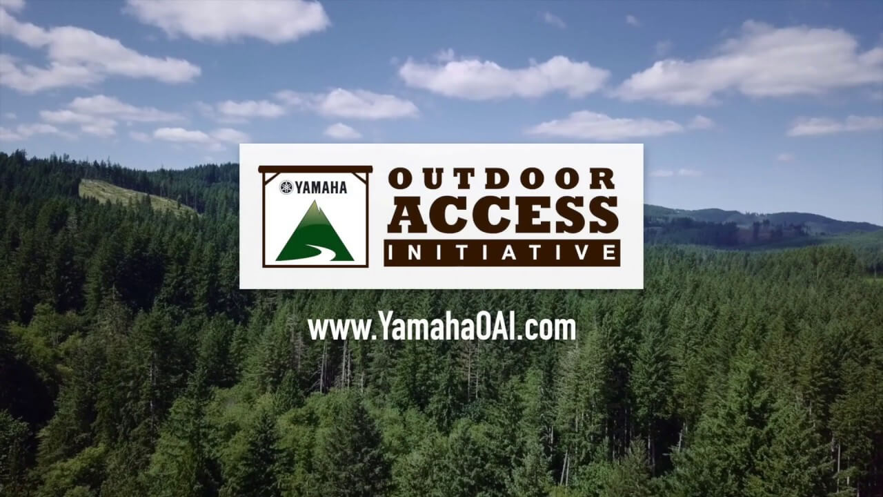 Yamaha Outdoor Access Iniative