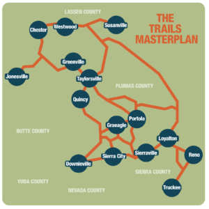 Connected Communities Trails Master Plan Map