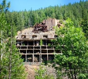 Engels Mine ruins