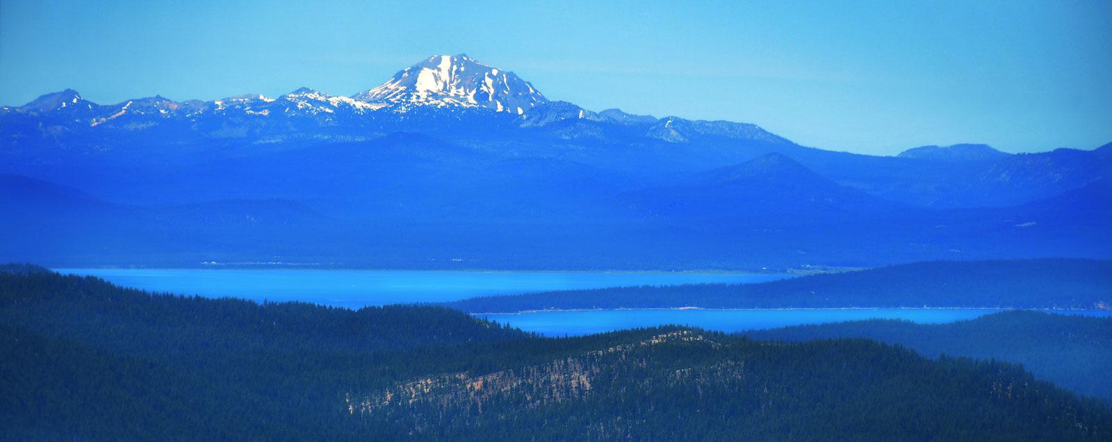 Mt. Lassen and Lake Almanor