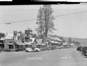 Historical photo of downtown Chester