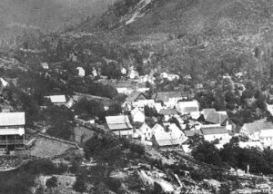 Sierra City during the gold rush