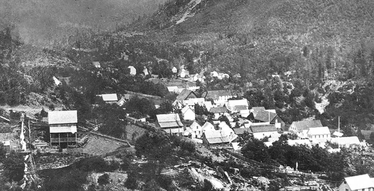 Downieville during the gold rush
