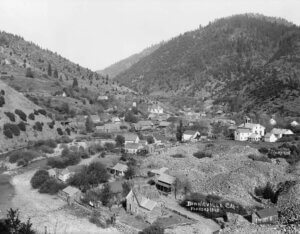 Downieville Cal founded 1849