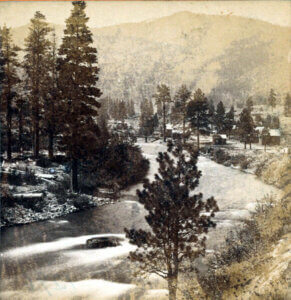 Truckee River at Verdi c. 1868-75