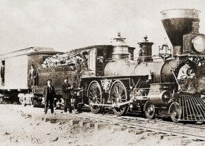 """Central Pacific Railroad locomotive No. 113 """"FALCON"""""""