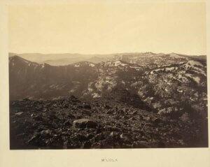 Mt. Lola looking towards Truckee