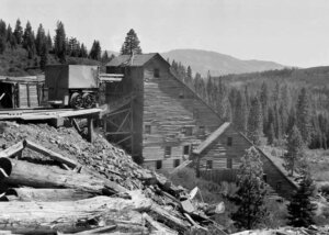 Plumas-Eureka Mine and Mill at Johnsville, Calif.