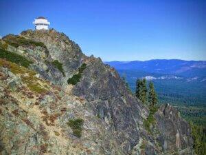 Lookout Tower on Mills Peak