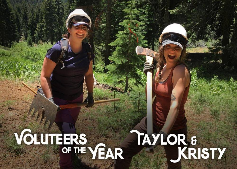 SBTS Volunteers of the Year - Taylor and Kristy