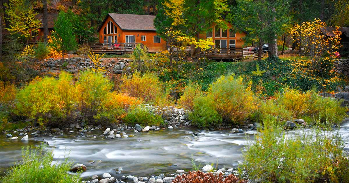 The Lure Resort Cabins in Downieville
