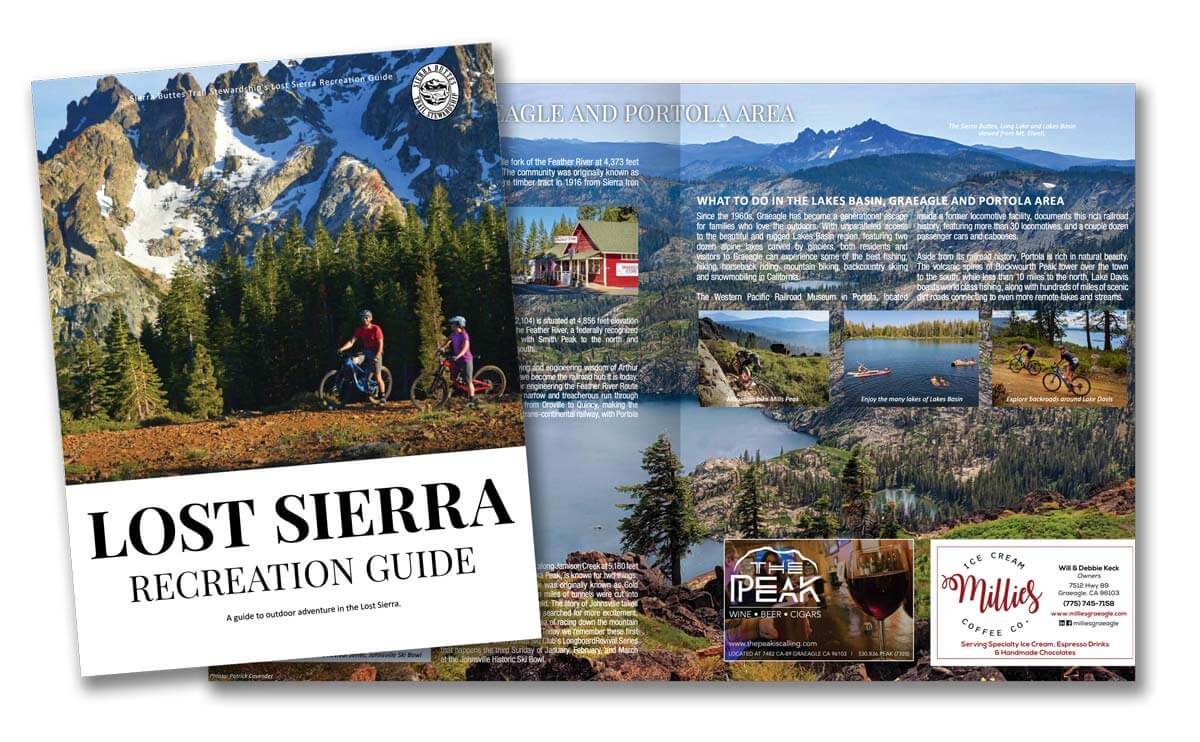 Lost Sierra Recreation Guide magazine 2021